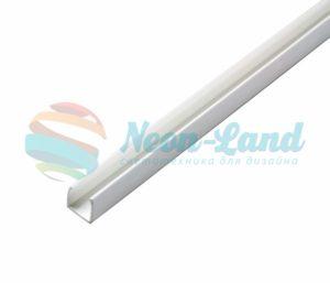 Короб пластик для Гибкого Неона белый