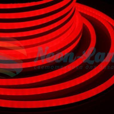 Гибкий Неон LED  - красный