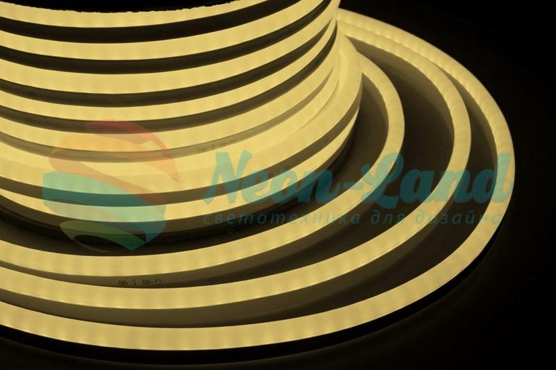 Гибкий Неон LED  - тепло-белый