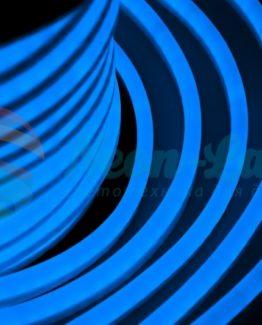 Гибкий Неон LED  - синий