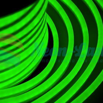 Гибкий Неон LED  - зеленый