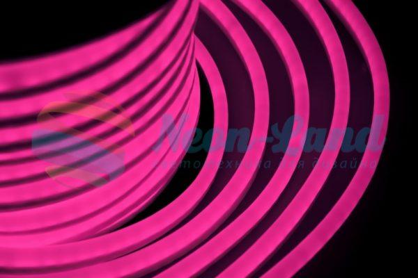 Гибкий Неон LED  - розовый