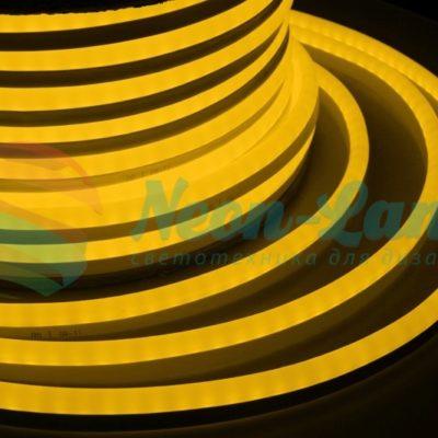 Гибкий Неон LED 360 - желтый