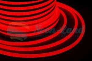 Гибкий Неон LED 360 - красный
