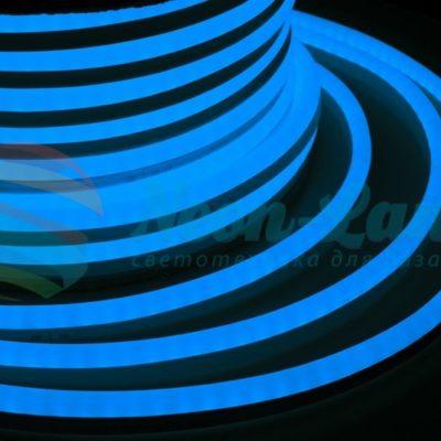 Гибкий Неон LED 360 - синий