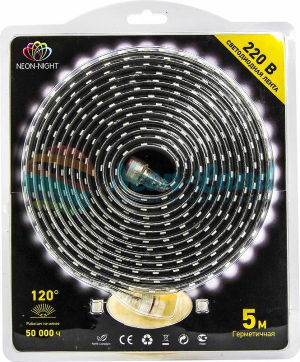LED лента 220В