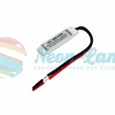 LED RGB Миниусилитель 12-24V/6А Neon-Night