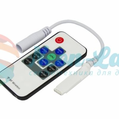 LED RGB Миниконтроллер Радио (RF) 10 кнопок 12-24V/6А Neon-Night