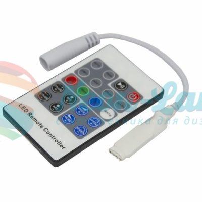 LED RGB Миниконтроллер Радио (RF) 20 кнопок 12-24V/6А Neon-Night