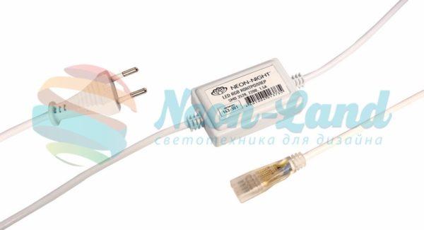 LED контроллер для светодиодных лент RGB  SMD3528 и SMD5050