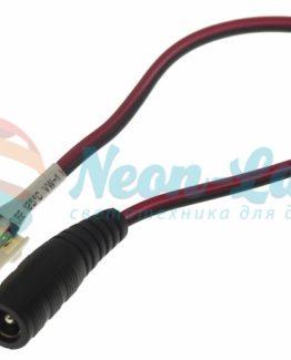 Коннектор питания с джеком для одноцветных светодиодных лент шириной 10мм Neon-Night