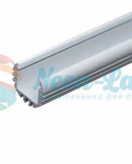 Алюминиевый анодированный профиль круглый накладной/подвесной
