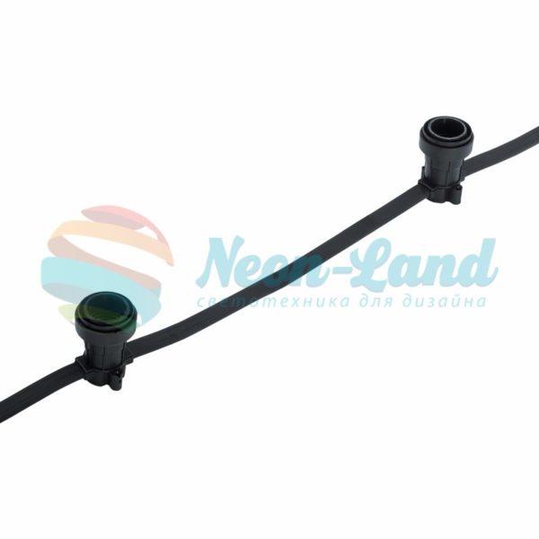 Belt-Light  2 жилы  шаг 50 см  патроны e27 влагостойкая IP54