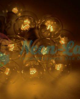 LED Galaxy Bulb String 10м
