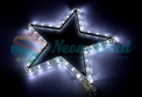 """Фигура световая """"Звездочка LED"""" цвет белый"""