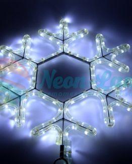 """Фигура световая """"Снежинка LED"""" цвет белый"""