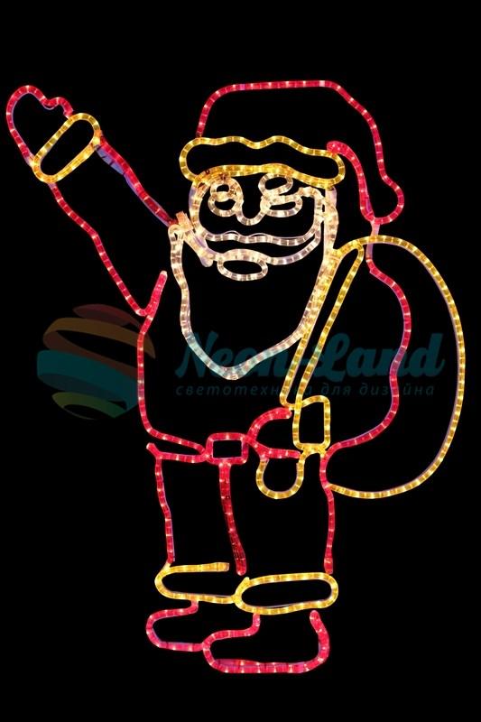 """Фигура """"Санта Клаус с мешком подарков"""""""