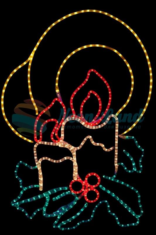 """Фигура """"Две свечи"""""""