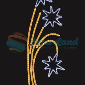 """Фигура световая """"Звездный фейерверк""""  размер 85*175 см  NEON-NIGHT"""