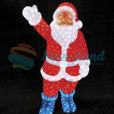 """Акриловая светодиодная фигура """"Санта Клаус"""" 120см"""