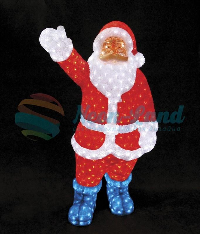 """Акриловая светодиодная фигура """"Санта Клаус"""" 210см"""