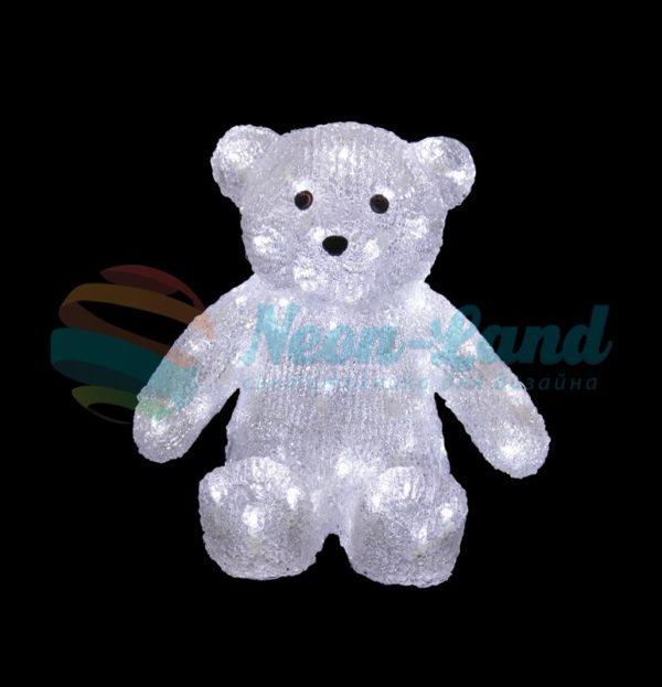 """Акриловая светодиодная фигура """"Медвежонок"""" 30 см"""