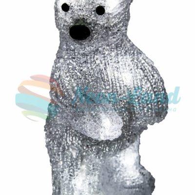 """Акриловая светодиодная фигура """"Медвежонок"""" 12х22х13 см"""
