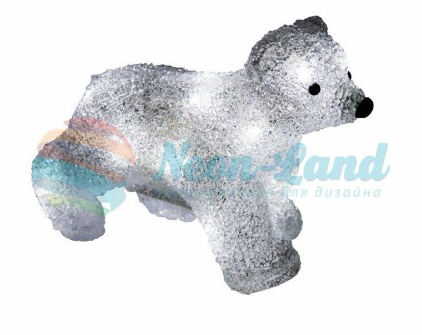"""Акриловая светодиодная фигура """"Медвежонок"""" 24х11х18 см"""