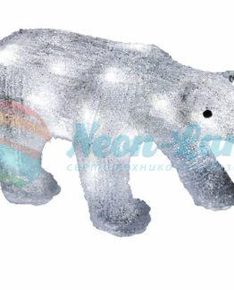 """Акриловая светодиодная фигура """"Медведь"""" 34"""