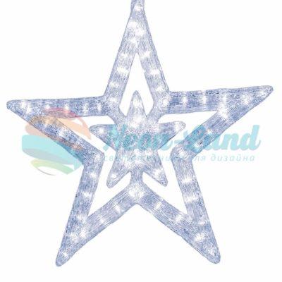 """Акриловая светодиодная фигура """"Звезда"""" 62 см"""