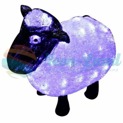"""Акриловая светодиодная фигура """"Овца"""" 30см"""