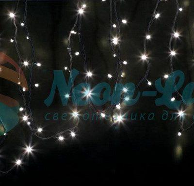 """Гирлянда модульная  """"Дюраплей LED""""  20м  200 LED  черный ПВХ"""