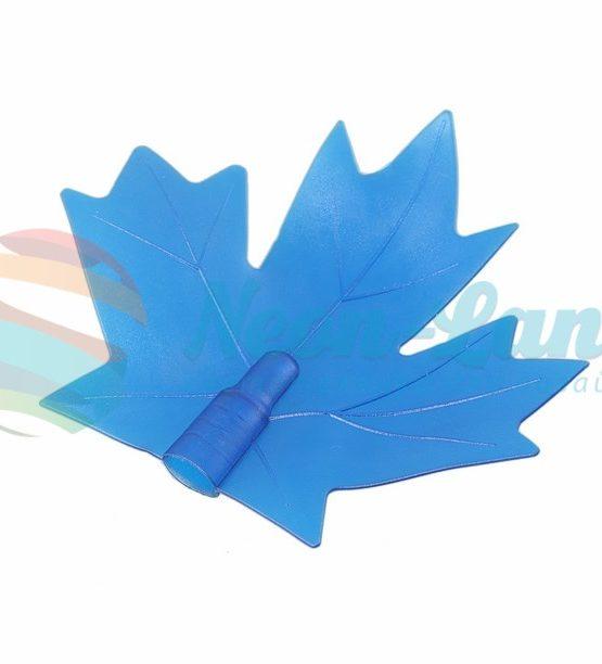 """Колпачок """"кленовый лист"""" (для дюраплей) синий"""