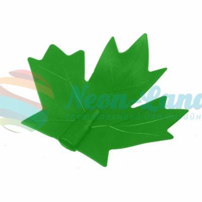 """Колпачок """"кленовый лист"""" (для дюраплей) зеленый"""