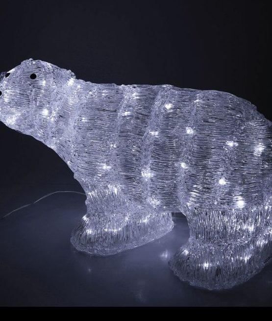 """Фигура акрил. """"Медведь большой"""" 60х39х38 см"""