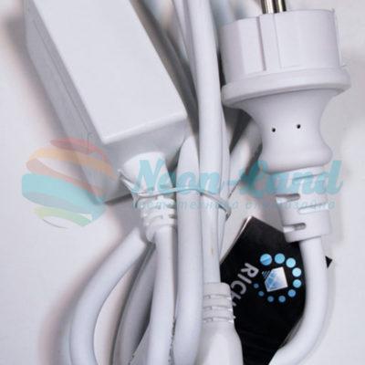 Блок питания для изделий Rich LED с мерцанием свечением. 2А. Для соединения до 10 шт.