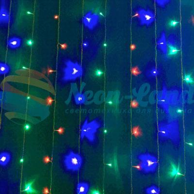 Светодиодный занавес Rich LED с динамикой