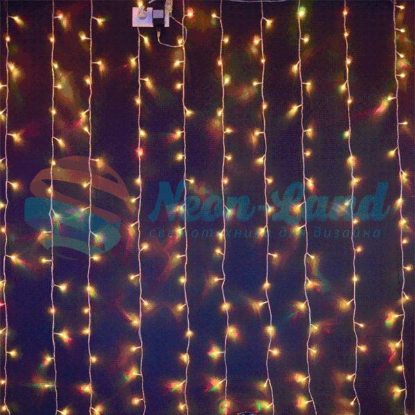 Светодиодный занавес RGB Хамелеон Rich LED
