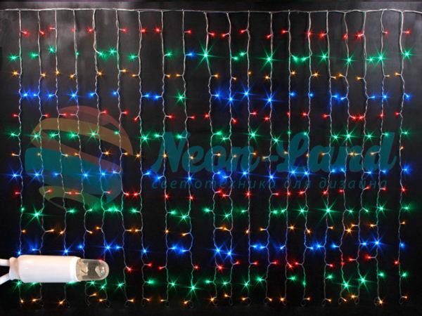Световой занавес облегченный Rich LED
