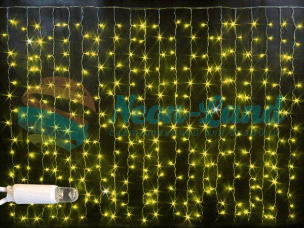 Световой занавес облегченный мерцающий Rich LED