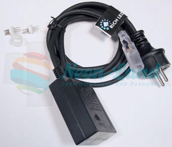 Комплект подключения для 3-х проводного дюралайтса (RL-DL-3W-100-240) с КОНТРОЛЛЕРОМ (8 режимов