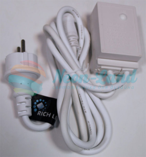 Блок питания Rich LED 1.5 м с КОНТРОЛЛЕРОМ (8 режимов