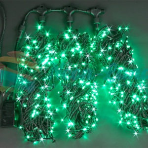 Светодиодная гирлянда Rich LED 3 Нити по 20 м мерцающая