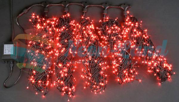 Светодиодная гирлянда Rich LED 5 Нитей по 20 м