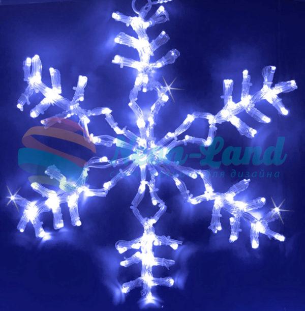 Снежинка светодиодная Rich LED мерцающая