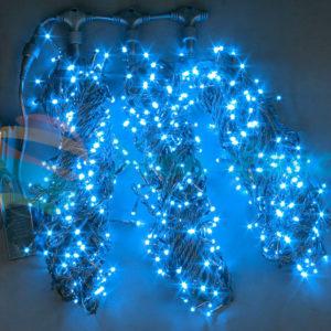 Светодиодная гирлянда Rich LED 3 Нити по 20 м c контроллером