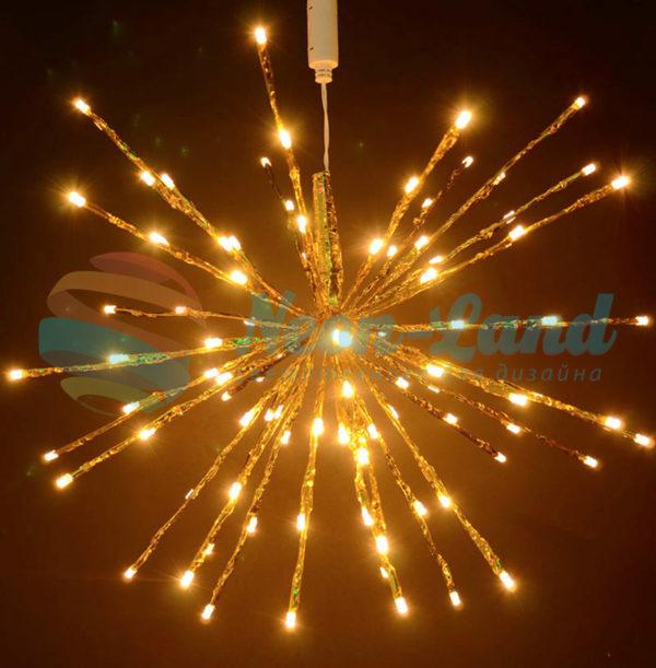Светодиодный ёжик-трансформер Rich LED мерцающий соединяемый