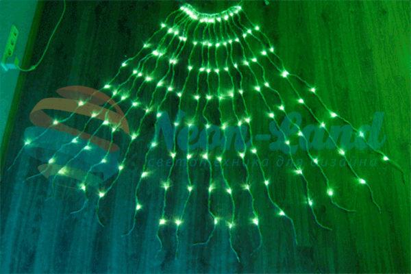Светодиодный занавес Водопад Rich LED