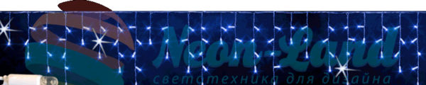 Светодиодная бахрома Rich LED 3х0.5 м мерцающая