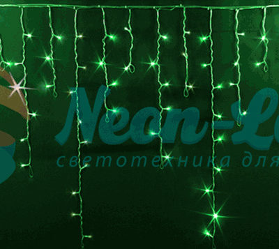 Светодиодная бахрома Rich LED 3x0.9 м МЕРЦАЮЩАЯ
